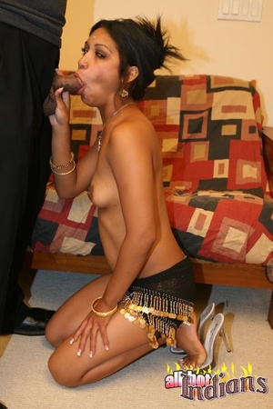 Small tits naked indian lass gets pussy banged on the couch before giving a head on her knees - XXXonXXX - Pic 12