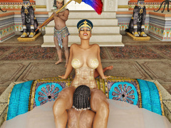 Pharoah queen gets caressed and pleasured by her - Picture 4