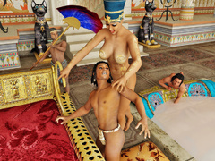 Pharoah queen gets caressed and pleasured by her - Picture 6