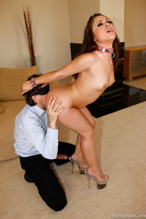 Young brunette babe gets her ass pounded - XXX Dessert - Picture 15