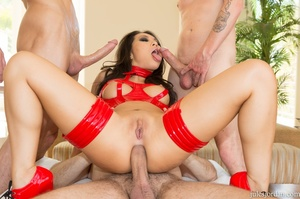 Dirty asian slut in red gets drilled by  - XXX Dessert - Picture 13