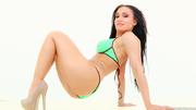 hot exotic babe bends