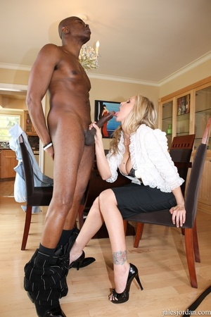 Horny blonde mature leans on a chair and gets pounded from behind - XXXonXXX - Pic 7