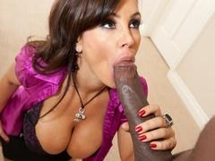 Gorgeous milf with big tits gets a big black cock - XXXonXXX - Pic 7