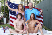brunette blows step brother's