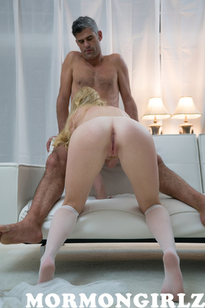 Blonde babe rough fucked by the experienced dude and loves it - XXXonXXX - Pic 9