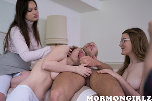Teaching innocent mormon youth about sucking some dick - XXXonXXX - Pic 16