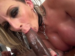 Big breasted slut gets oiled and ready for - XXXonXXX - Pic 19