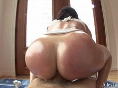 Brunette with big tits and ass gets a deep - XXXonXXX - Pic 13