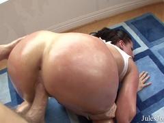 Brunette with big tits and ass gets a deep - XXXonXXX - Pic 17