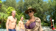 busty sergeant gets her