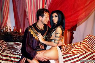 dark hair egyptian princess