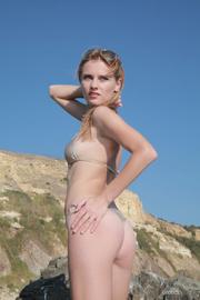 adventurous blonde goes naked
