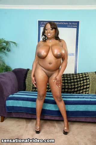 gorgeous black size babe
