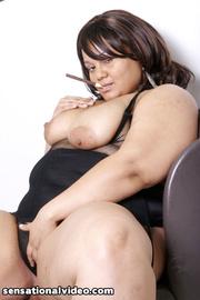 extra large babe black