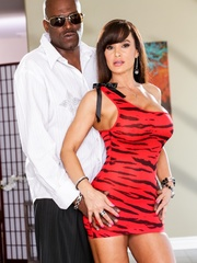 Brunette MILF wears a tight red dress and poses - XXXonXXX - Pic 8