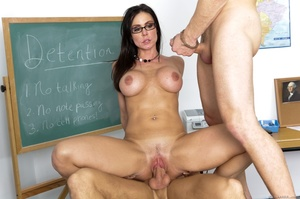 Well hung students fucking a brunette te - XXX Dessert - Picture 7