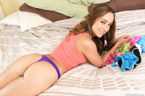 Curly haired porn star fucks a horny dir - XXX Dessert - Picture 14