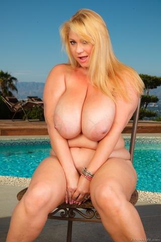 blonde milf giant titties