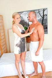 expert masseuse gets naked