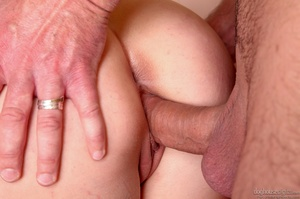 Two blondes devour dick while reveling in a living room threeway fuck. - XXXonXXX - Pic 5