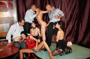 It's a sex party at a strip club for this group of horny folks. - XXXonXXX - Pic 2