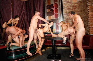 It's a sex party at a strip club for this group of horny folks. - XXXonXXX - Pic 6