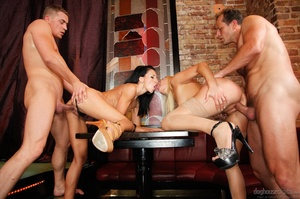 It's a sex party at a strip club for this group of horny folks. - XXXonXXX - Pic 7