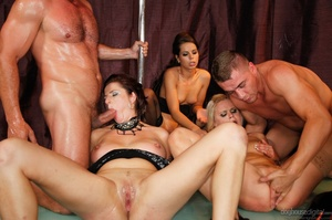 It's a sex party at a strip club for this group of horny folks. - XXXonXXX - Pic 9