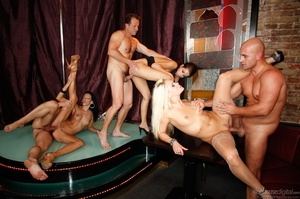 It's a sex party at a strip club for this group of horny folks. - XXXonXXX - Pic 12