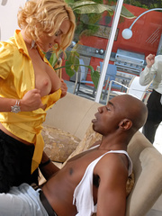 Pretty blonde wife with big tits loves to get - XXXonXXX - Pic 4