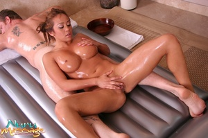 Stunning Asian masseuse gives a blowjob to a dude and rides it - XXXonXXX - Pic 11