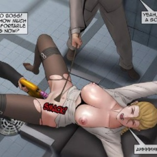 Blonde is stripped and treated like a - BDSM Art Collection - Pic 1