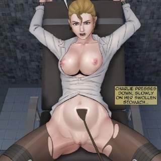 MILF in a white top flenches when her - BDSM Art Collection - Pic 2