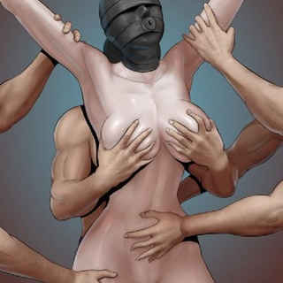 Tantalizing chick in a black mask is - BDSM Art Collection - Pic 1