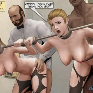 Babes in arm-spreaders are totally into - BDSM Art Collection - Pic 2