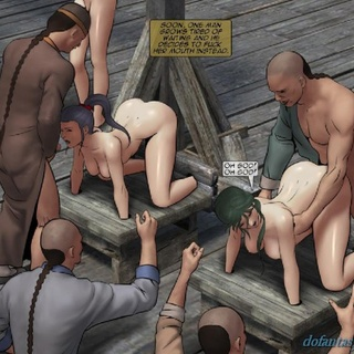 Bound girls are fisted, kicked and - BDSM Art Collection - Pic 1
