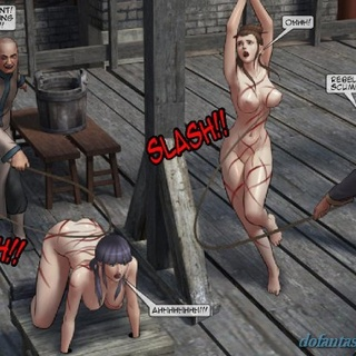 Gorgeous submissive women are bound, - BDSM Art Collection - Pic 3
