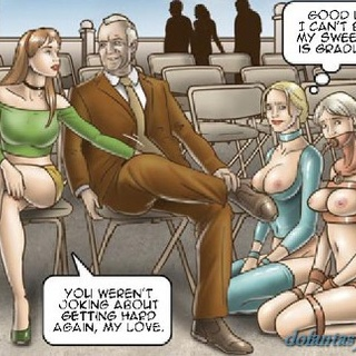 Stern masters have beautiful young - BDSM Art Collection - Pic 4