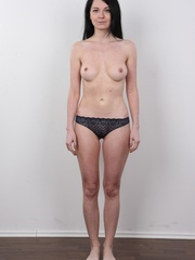 Sexy brunette with beautiful face and skinny body - XXXonXXX - Pic 7