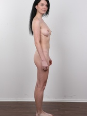 Sexy brunette with beautiful face and skinny body - XXXonXXX - Pic 15