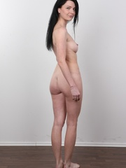 Sexy brunette with beautiful face and skinny body - XXXonXXX - Pic 18