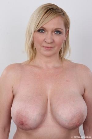 A blonde milf with nice tits utilizes her assets in naughty ways - XXXonXXX - Pic 11
