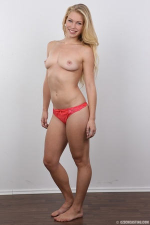 This blonde with blue eyes and an amazing body and shaved pussy gets fucked - XXXonXXX - Pic 12
