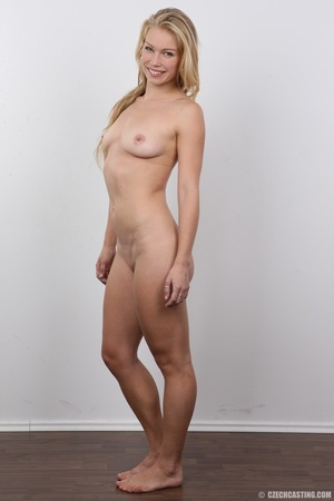 This blonde with blue eyes and an amazing body and shaved pussy gets fucked - XXXonXXX - Pic 14