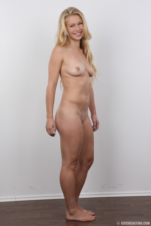 This blonde with blue eyes and an amazing body and shaved pussy gets fucked - XXXonXXX - Pic 15