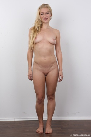This blonde with blue eyes and an amazing body and shaved pussy gets fucked - XXXonXXX - Pic 16