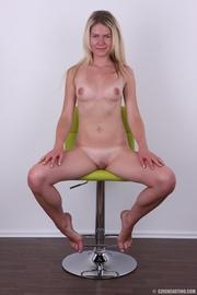 blonde bitch yellow bra