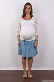 embarazada morena guarra excitado