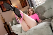 sweetie takes off pink